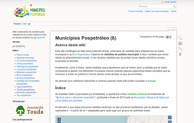 Captura del web de Municipios.pospetroleo.com